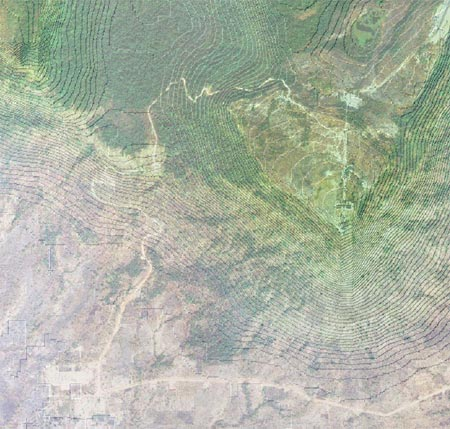 Satellite Photo of Preah Vihear and its Surrounding Region (Courtesy: Bora Touch)