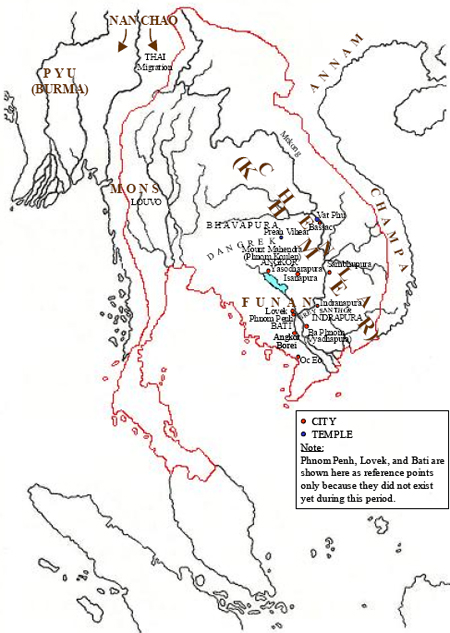Khmer Empire during the Height of its Civilization, Before the Appearance of Siam (From Jayavarman II to Jayavarman VII)