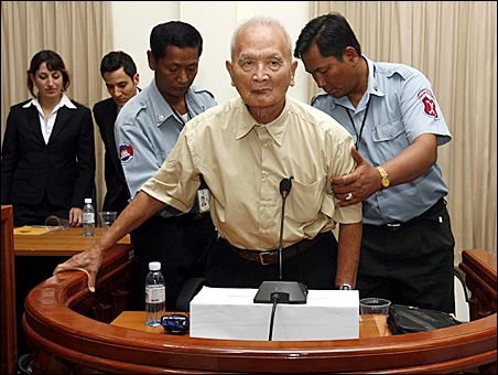 Nuon Chea arrested